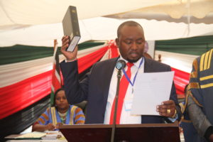 MCA for Kerugoya Ward Takes Oath of Office