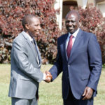 The Speaker of the County Assembly attended a meeting with the Deputy President