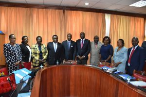 Assembly Speaker's Panel meets their Senate counterparts to benchmark