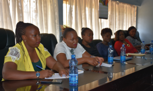 Kirinyaga Women Caucus held a meeting with the Youth Alive Kenya members.