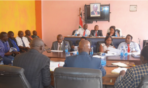 Members of the County Assembly hold consultative meetings with the County Executive Committee Members