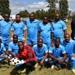 The County Assembly football team in action during the second edition of the CASA games in Eldoret.