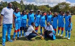 The County Assembly of Kirinyaga Volleyball Team proceeded to the quarter finals in the CASA games that were held in Eldoret, Uasin Gishu County. Congratulations to the team.