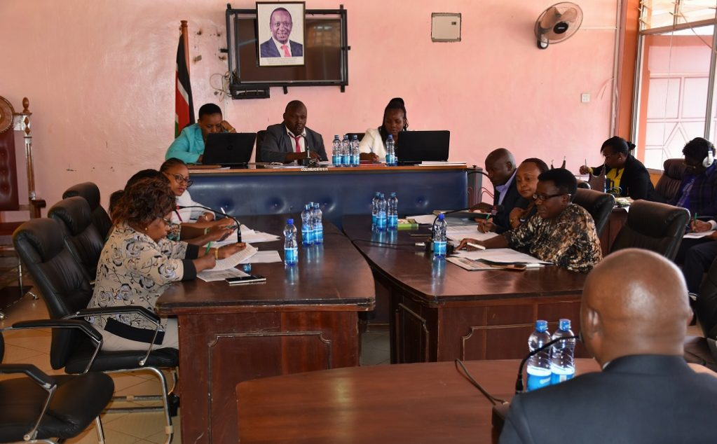 The Committee on Public Service and Administration conducts approval hearings for candidates nominated to the County Public Service Board.
