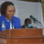 The Governor Hon. Anne Waiguru delivers the 3rd State of the County address.