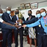 Assembly Shuttlers Clinch Top Award.